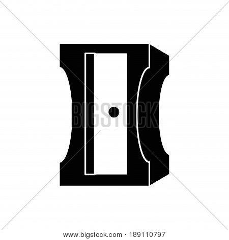 Pencil sharpener isolated icon vector illustration graphic design
