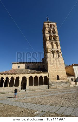 St. Stephen's church (12th century) Segovia. Castilla-Leon Spain