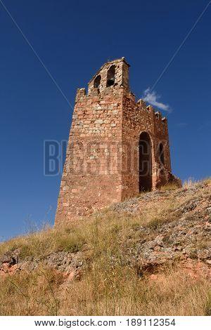 La Martina tower Ayllon Segovia province Castilla LeonSpain