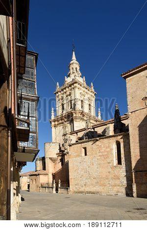 Cathedral El Burgo de Osma Soria province Castilla-Leon Spain
