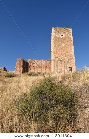 Tower of San Cristobalwalls (S. XIV )Daroca. Zaragoza province Aragon Spain