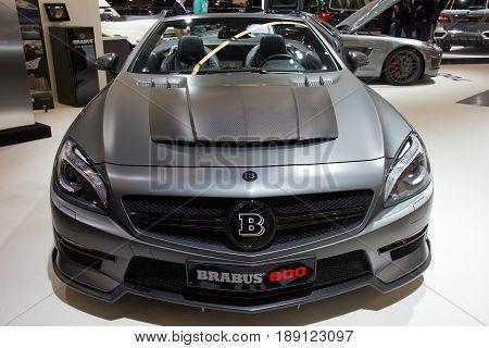 Brabus 800 Mercedes Benz Sl 65 Amg