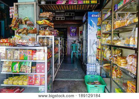Grocery Store In Pyin Oo Lwin, Myanmar