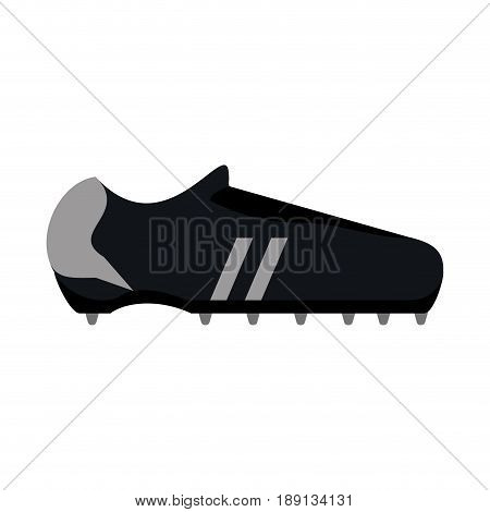 single cleat soccer or football  related icon image vector illustration design