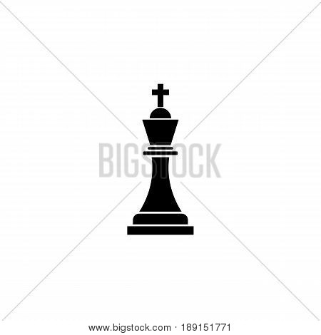 Tactical Advantage solid icon, Business Strategy and chess figure, vector graphics, a filled pattern on a white background, eps 10.