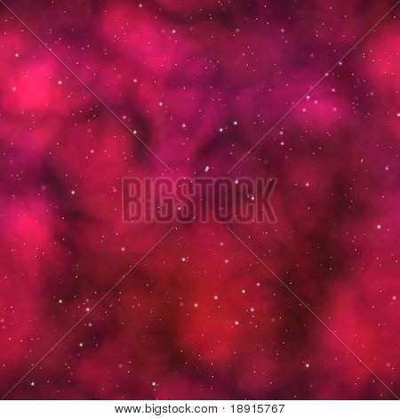 red nebula or starfield background