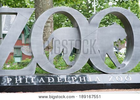 PHILADELPHIA, PA - MAY 30: Philadelphia Zoo, Amercia's First Zoo, wildlife refuge and zoological garden on May 30, 2017