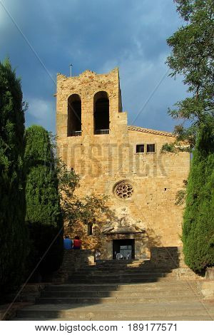 church of Sant Pere de Pals Girona provinceCatalonia Spain