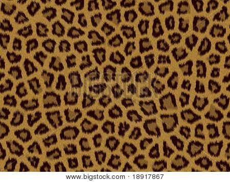 Leopard fur background texture that tiles seamless as a pattern