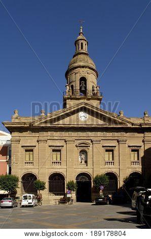 Santiago church of Calahorra La Rioja Spain