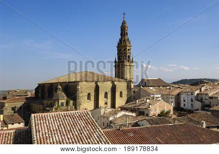 La Asuncion church Briones La Rioja Spain