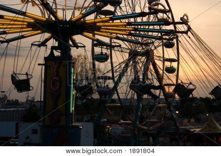 Carnival At Sunset