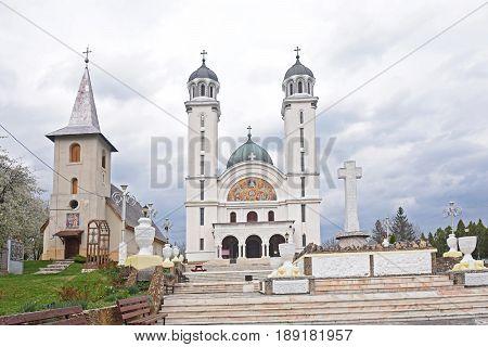 Cathedral in Ghelari Hunedoara County Transylvania Romania
