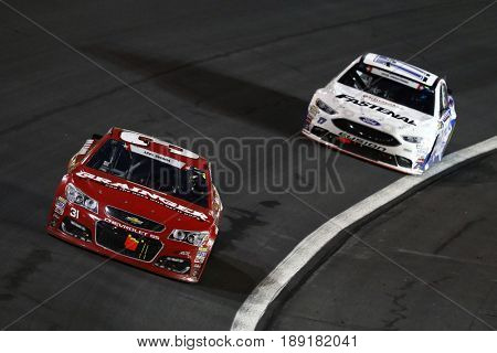 May 28, 2017 - Concord, NC, USA: Ryan Newman (31) brings his car through the turns during the Coca Cola 600 at Charlotte Motor Speedway in Concord, NC.