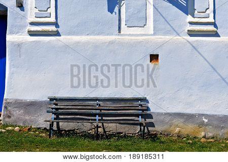 A corner of the Traditional village Romanian of Viscri Transylvania Romania