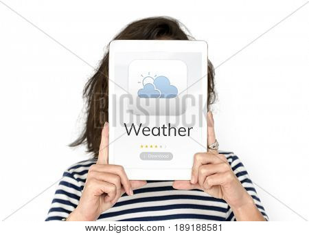 Weather forecasting climate meteorology temperature
