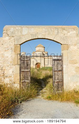 Panayia Kanakaria Monastery Church, Cyprus- Portrait View