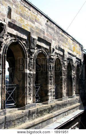The Porta Nigra, Roman City Gate In Trier, Germany