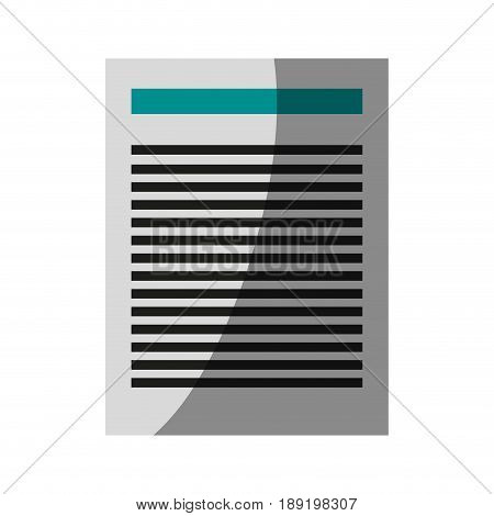 paper document icon image vector illustration design