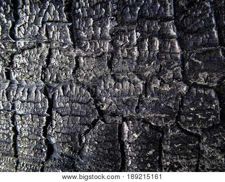 The surface of the black coal. Dark coal. texture