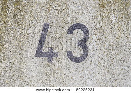 Number Forty-three