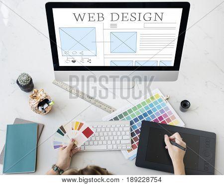 Web design ideas layout technology website
