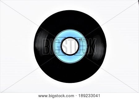 An image of vinyl record - vintage music