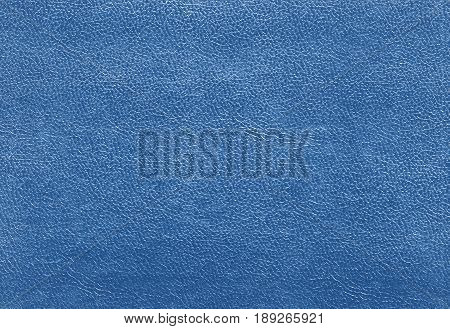 Blue Color Leather Texture