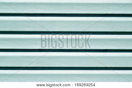 Cyan Color Plastic Panel Wall Pattern.