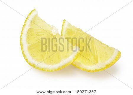 Lemon Lobes On White