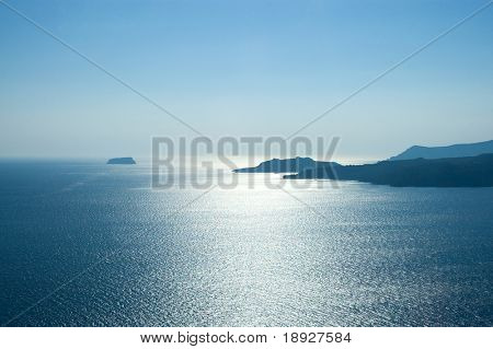 Beautiful landscape in Greece