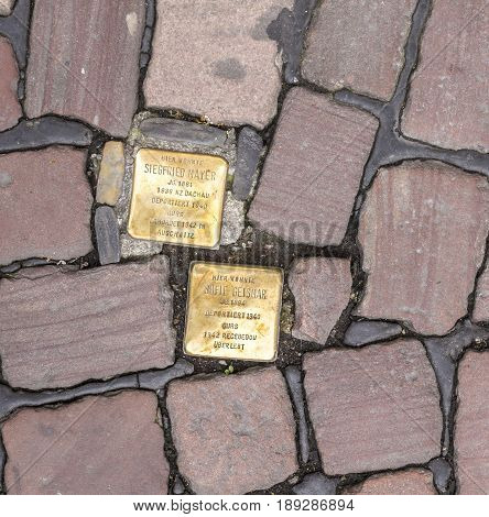 Stumbling Blocks At Freiburg