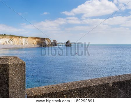 Isle of Wight tourist attraction in summer England UK.