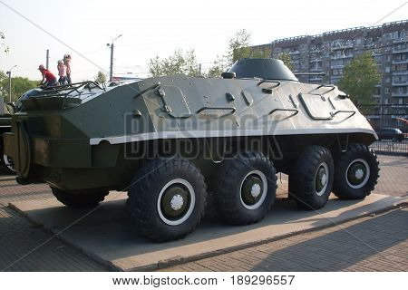 Soviet (Russian) armored personnel carrier BTR-60 (1956-1959 )
