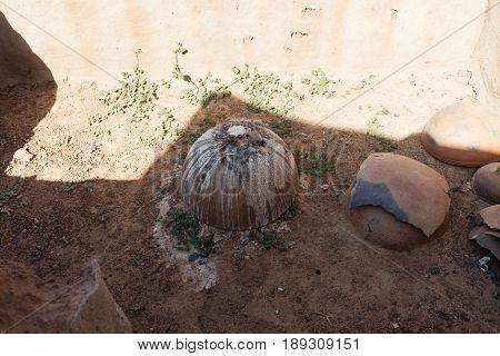 Burial in village in Burkina Faso, Africa