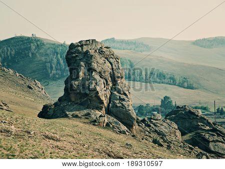 Rocks At Suvo Village