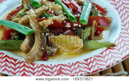 Chinese  Fried Tripe