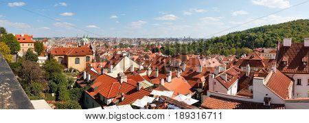 Prague Seen From Castle Bell Tower