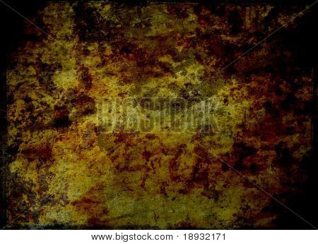 Old rusty iron surface, grunge background