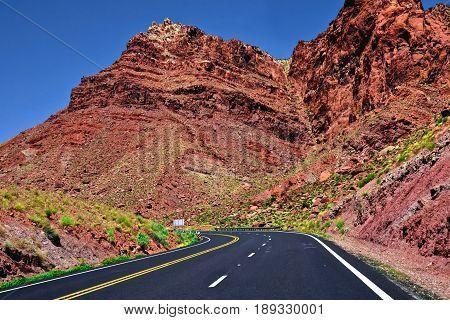United States of America Arizona Desert Road