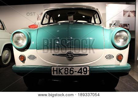 PS Speicher Museum - Trabant P50 1958-1963 - Einbeck/Germany - 2017 March 26.