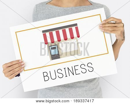 Small Business Merchandise Retail Online Shop Graphic