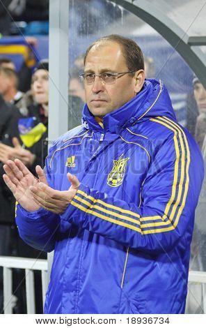 Ukraine (u 21)-Manager Pavlo Yakovenko