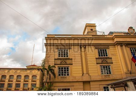 The Building In Classical Style. Manila, Philippines.