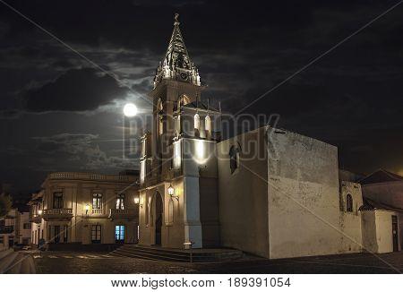 Iglesia en el norte de Tenerife en Buenavista