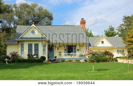 Casa rural casa del país