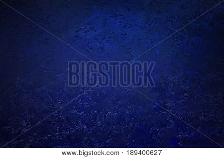 Grunge blue background from sheet metal. Blue texture.