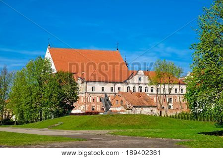Kaunas St. George The Martyr Church And Bernardine Monastery. Kaunas, Lithuania.