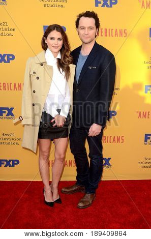 LOS ANGELES - JUN 1:  Keri Russell, Matthew Rhys at the FX's