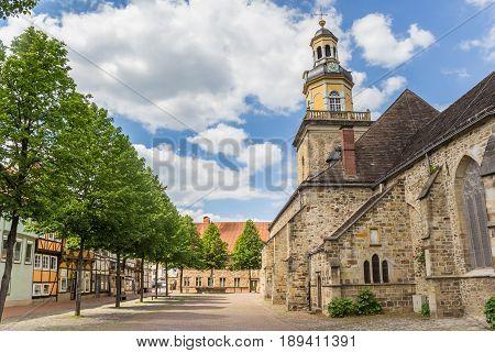 St. Nicolai Church In The Historical Center Of Rinteln